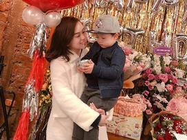 Ly Kute khoe ảnh đón sinh nhật tuổi 28 nhưng người xem lại chỉ chú ý đến ngoại hình điển trai của Khoai Tây