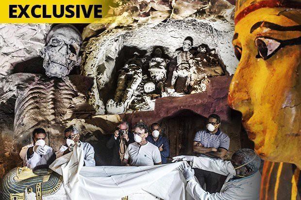 Lời nguyền mở quan tài xác ướp Ai Cập gây chết người liệu có thật?-1