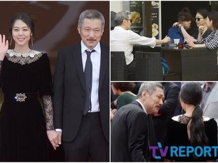 'Ảnh hậu xứ Hàn' Kim Min Hee hẹn hò tình nhân U60 đầu năm mới