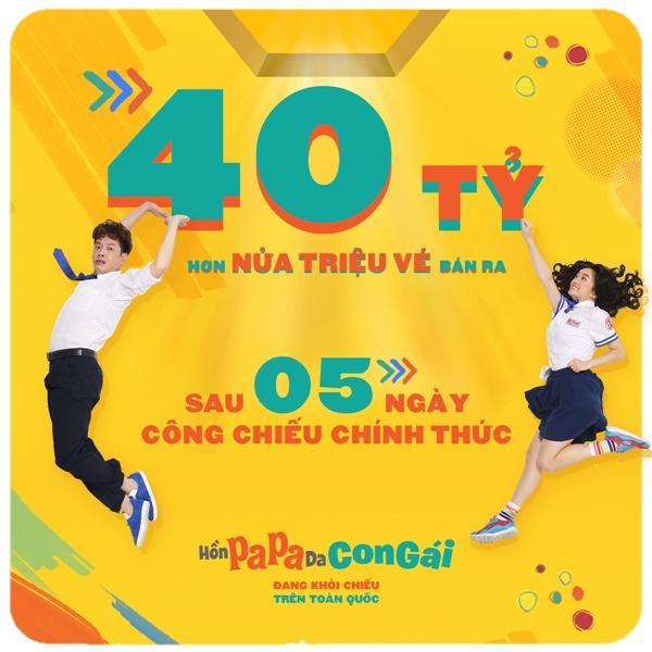 Bom tấn của Thái Hòa và Kaity Nguyễn đạt doanh thu 40 tỷ đồng sau 5 ngày công chiếu-1