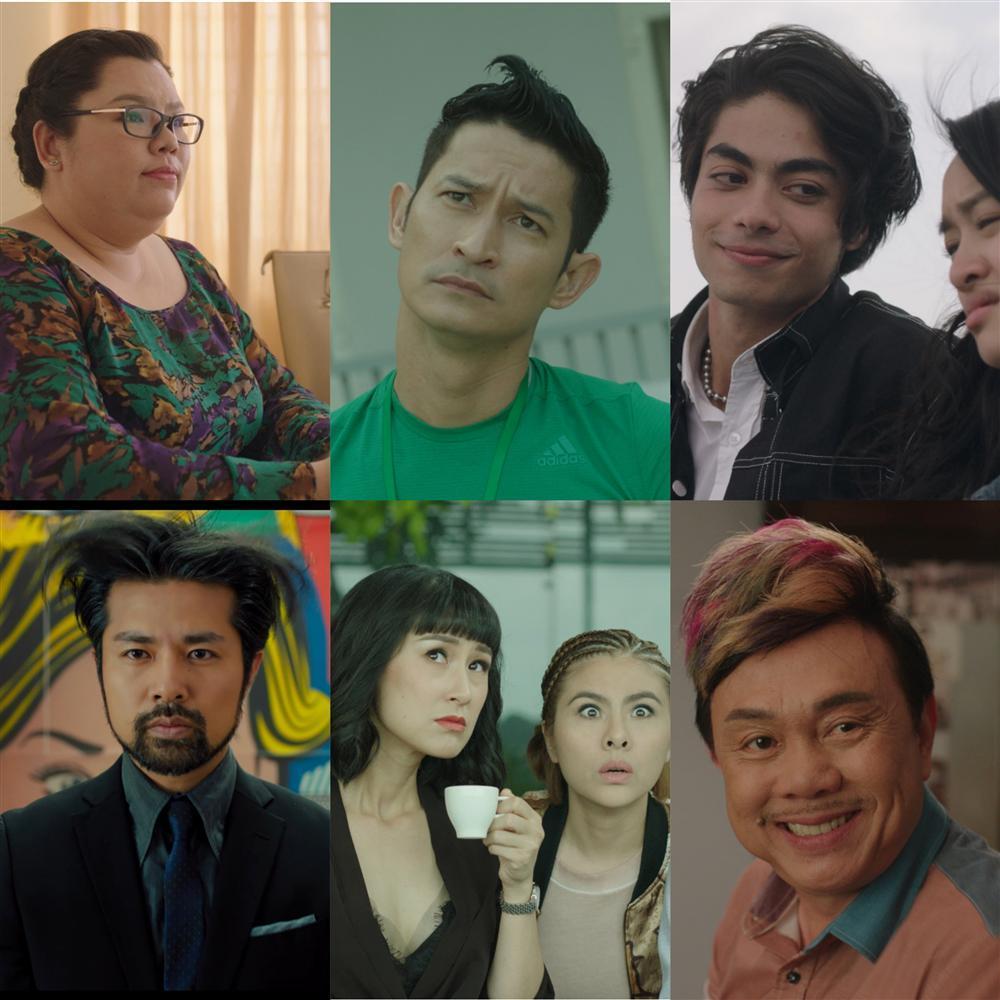 Ngoài Thái Hòa và Kaity Nguyễn, còn có một dàn diễn viên mà ai cũng khiếp sợ trong Hồn Papa Da Con Gái-5