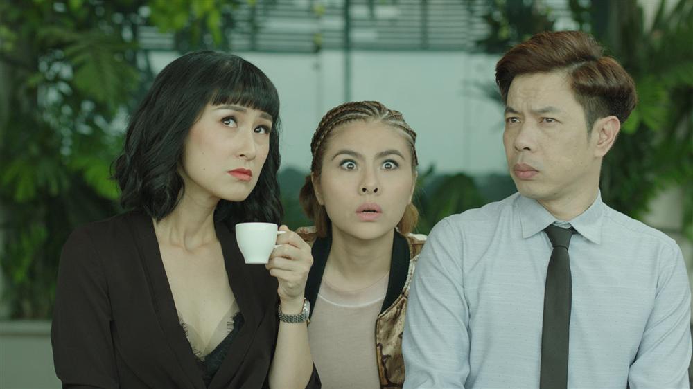 Ngoài Thái Hòa và Kaity Nguyễn, còn có một dàn diễn viên mà ai cũng khiếp sợ trong Hồn Papa Da Con Gái-6