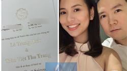Rò rỉ thiệp cưới đơn giản nhưng sang trọng của Lê Hiếu trước ngày rước dâu