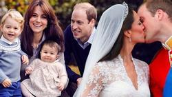 Hành trình làm cha mẹ từ cuộc tình 'nay tan mai hợp' của hoàng tử William và công nương Kate