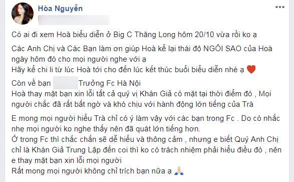 Fan cố gắng góp ý thiện chí, Hòa Minzy lại gây bão khi đáp trả gay gắt: Đừng dạy bảo chị-3