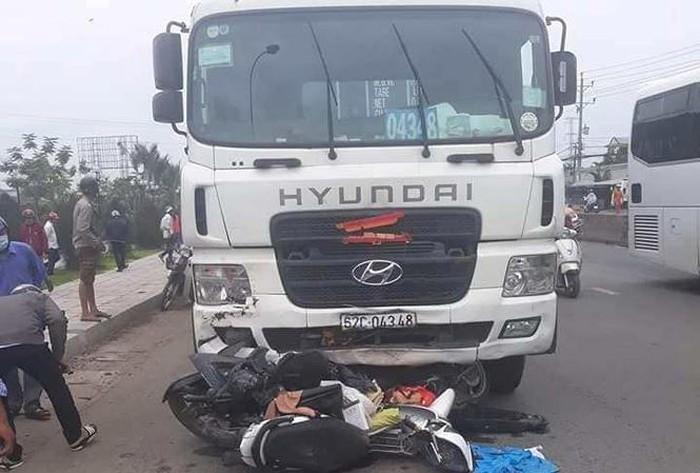Vụ tai nạn thảm khốc ở Long An: Phanh xe container không hỏng-1