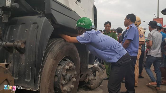 Vụ tai nạn thảm khốc ở Long An: Phanh xe container không hỏng-2