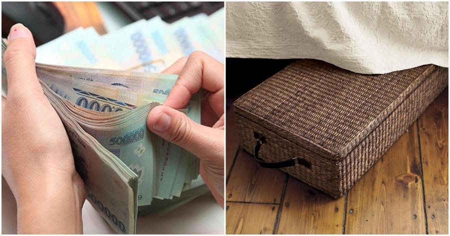 Bí mật đặt chiếc 'hộp thần' này dưới gầm giường, đang NGHÈO RỚT MÙNG TƠI cũng hóa giàu sau 3 ngày 2 đêm-2