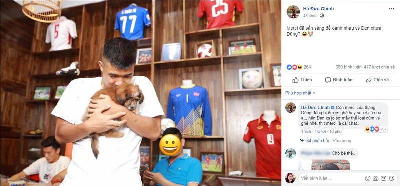 Chỉ vì một chú thú cưng, Bùi Tiến Dũng và Hà Đức Chinh công khai khẩu chiến trên mạng xã hội-2