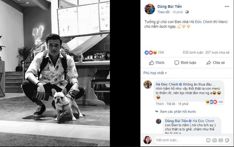 Chỉ vì một chú thú cưng, Bùi Tiến Dũng và Hà Đức Chinh công khai khẩu chiến trên mạng xã hội-3