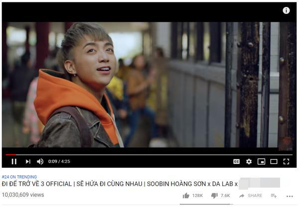 Bất ngờ chưa, MV mới của Soobin Hoàng Sơn được xem nhiều nhất trên thế giới sau 24 giờ-1