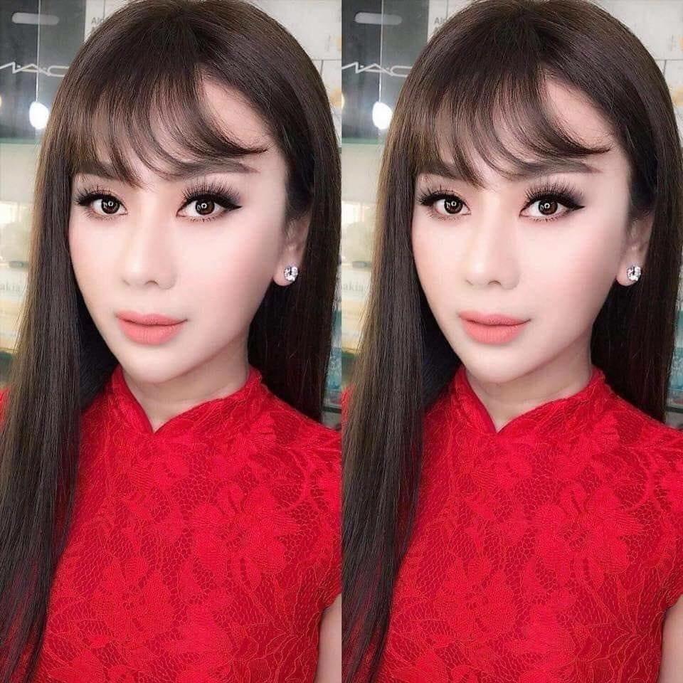 Đã tìm ra sự thật đằng sau bức ảnh gương mặt nhăn nhúm thâm xì của công chúa Lâm Khánh Chi-9