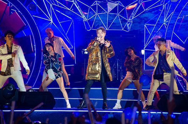 Mỹ Tâm, Sơn Tùng đốt cháy sân khấu nhạc hội Tiger Remix-6