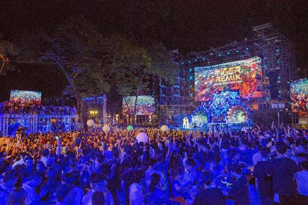 Mỹ Tâm, Sơn Tùng đốt cháy sân khấu nhạc hội Tiger Remix-9