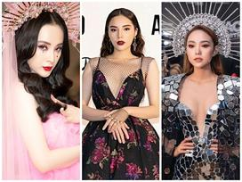 SAO MAKE OVER: Angela Phương Trinh và Minh Hằng tranh ngôi 'nữ thần' chỉ riêng Kỳ Duyên họa mặt 'già đau già đớn'