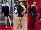 Hà Hồ - Cổ Lực Na Trát - Ngô Cẩn Ngôn 'đụng hàng' đầm hiệu xuyên quốc gia: 'Ngán thay' chẳng ai mặc đẹp