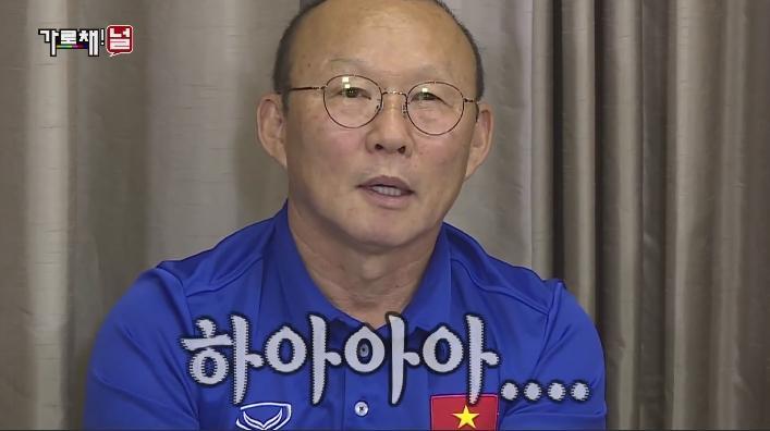 HLV Park Hang Seo cùng các học trò gây sốt trên sóng truyền hình Hàn Quốc-2