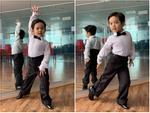 Lên đồ vũ công cực chất, con trai Khánh Thi khiến dân mạng trầm trồ: Kiện tướng tương lai là đây chứ đâu-14