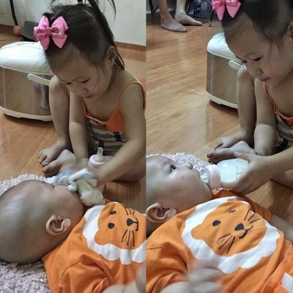 Cười ra nước mắt với chuyện kể của hội chị em bỉm sữa vì đẻ hai con quá sát nhau-6