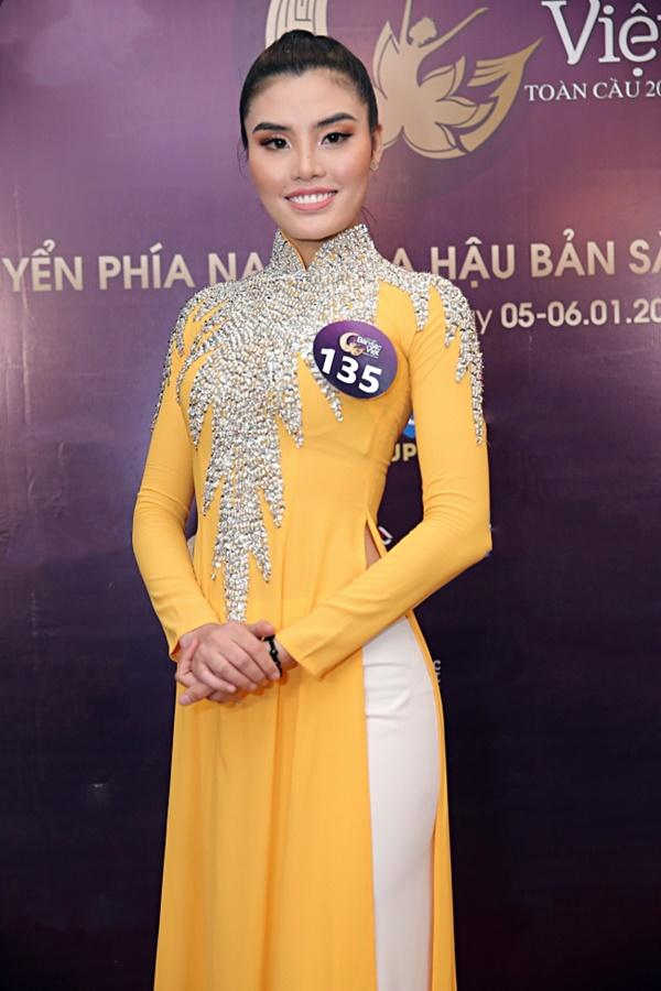Kiên trì không kém Phạm Hương, Tường Linh tiếp tục chinh chiến Hoa hậu Bản sắc Việt toàn cầu 2019-12