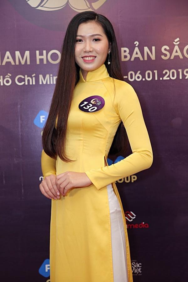 Kiên trì không kém Phạm Hương, Tường Linh tiếp tục chinh chiến Hoa hậu Bản sắc Việt toàn cầu 2019-14