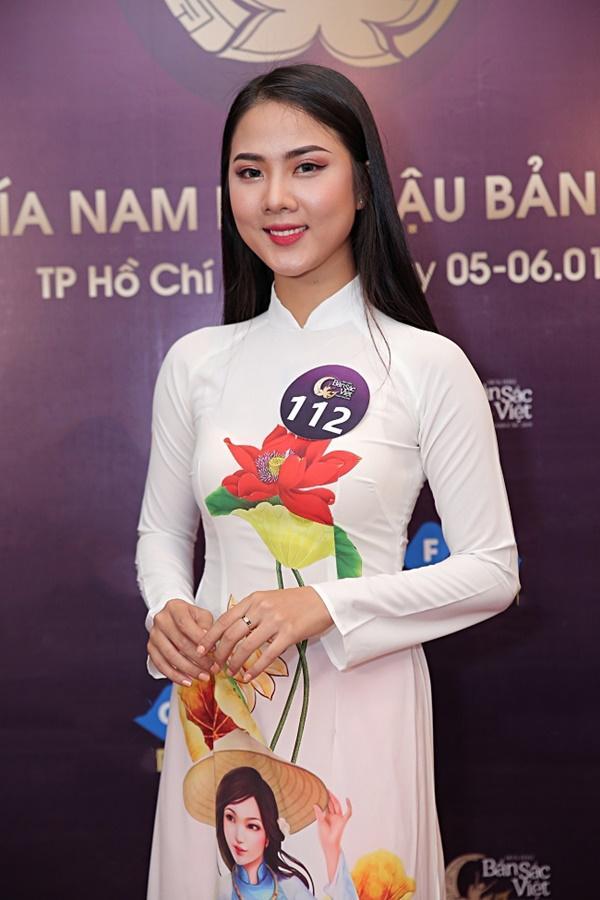 Kiên trì không kém Phạm Hương, Tường Linh tiếp tục chinh chiến Hoa hậu Bản sắc Việt toàn cầu 2019-15