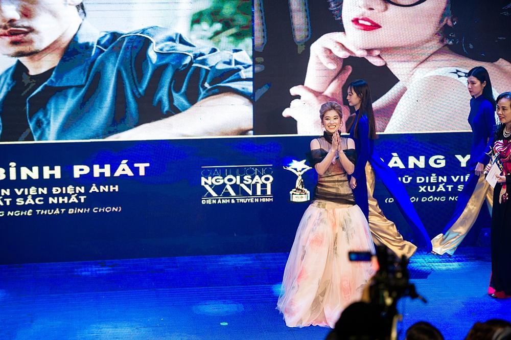 Đoạt cú đúp tại lễ trao giải Ngôi Sao Xanh, Hoàng Yến Chibi xúc động: Giờ đây tôi tự tin mình đã là một diễn viên-4