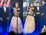 Hoàng Yến Chibi xách váy chạy như bay để ăn mừng đoạt cup Làn Sóng Xanh với fan-9