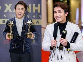 Huỳnh Lập chạy xe ôm đi nhận 4 giải thưởng trong cùng một đêm