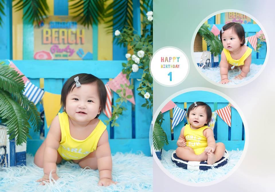 Vừa ra đời đã ngậm thìa vàng có khác, sinh nhật tròn 1 tuổi cháu gái Bảo Thy được tổ chức đúng chuẩn Rich Kid-6