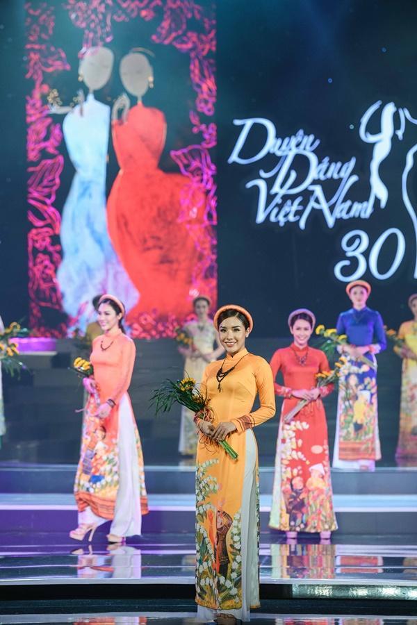 Hoa hậu Ngọc Hân hoàn thành tâm nguyện thuở bé với vai trò mới tại chương trình Duyên dáng Việt Nam 30-9