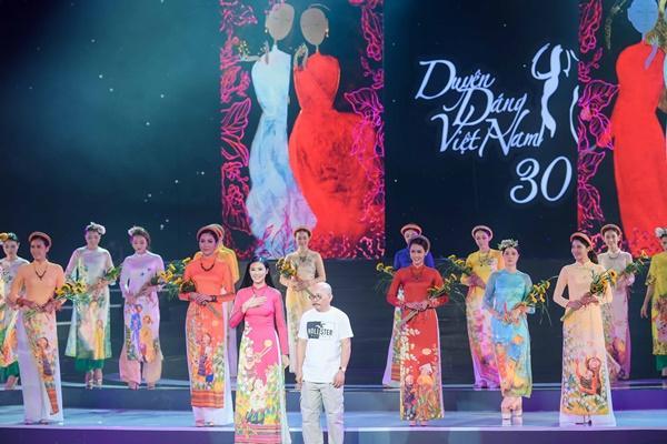 Hoa hậu Ngọc Hân hoàn thành tâm nguyện thuở bé với vai trò mới tại chương trình Duyên dáng Việt Nam 30-14