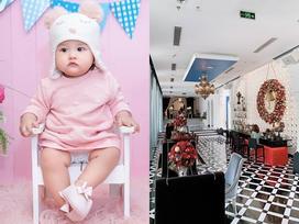 Vừa ra đời đã ngậm thìa vàng có khác, sinh nhật tròn 1 tuổi cháu gái Bảo Thy được tổ chức đúng chuẩn Rich Kid
