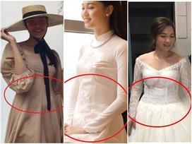 Hoa khôi Lan Khuê - Á hậu Thanh Tú - vợ Tiến Đạt là bộ ba nổi tiếng nhất showbiz tuần qua chỉ vì... cái bụng bầu