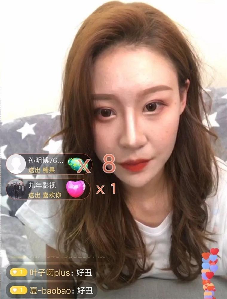 Lỡ tay tắt nhầm filter làm đẹp khi livestream, hotgirl Trung Quốc khiến fans vỡ mộng toàn tập trước nhan sắc thật-5