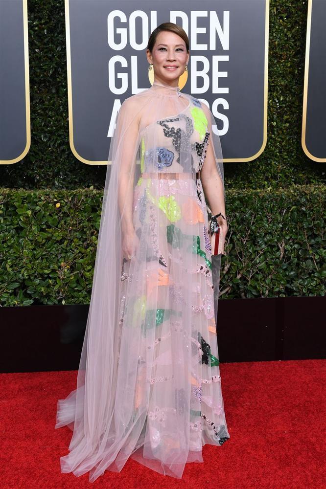 Những bộ váy xuyên thấu và trễ nải gợi cảm nhất trên thảm đỏ Quả Cầu Vàng 2019-14