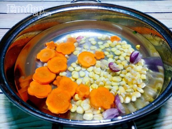 Bữa tối đổi gió với súp tôm thịt nấu miến tuyệt ngon-5