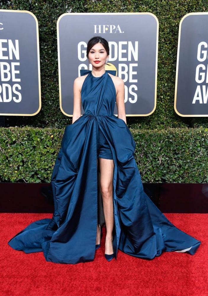 Những bộ váy xuyên thấu và trễ nải gợi cảm nhất trên thảm đỏ Quả Cầu Vàng 2019-4