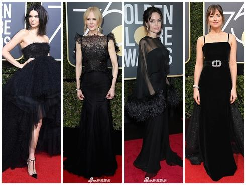 Những bộ váy xuyên thấu và trễ nải gợi cảm nhất trên thảm đỏ Quả Cầu Vàng 2019-16