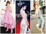 Nhại theo Hương Giang Idol cách pose dáng nữ thần, Hòa Minzy lập tức chiếm spotlight thảm đỏ-10