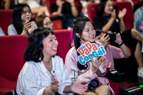 Kaity Nguyễn quậy hết mình cùng đại gia đình Hồn Papa Da Con Gái-6