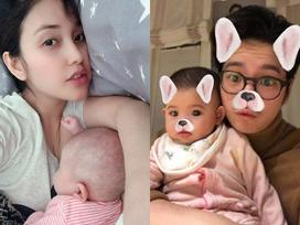 Người yêu cũ Trấn Thành lần đầu khoe con gái giống ông xã Việt kiều như đúc