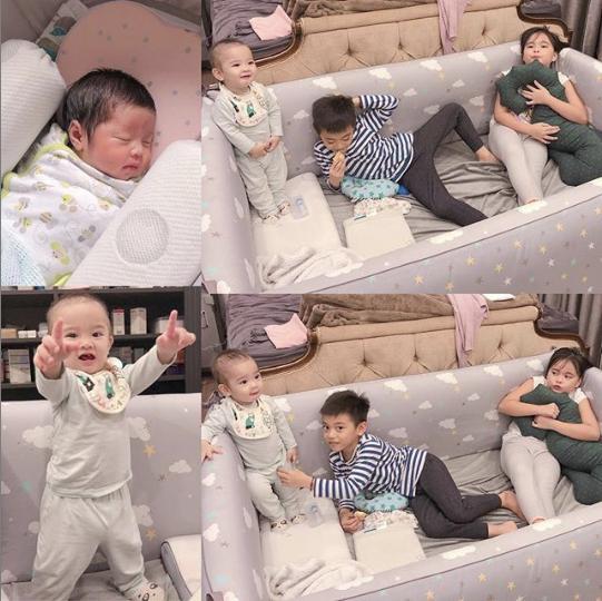 8 năm sinh 4 con, bé nào cũng đẹp vậy mà Hằng Túi từng trầm cảm đến mức tát y tá vì lấy chệch ven tay-4