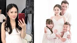 8 năm sinh 4 con, bé nào cũng đẹp vậy mà Hằng 'Túi' từng trầm cảm đến mức tát y tá vì lấy chệch ven tay