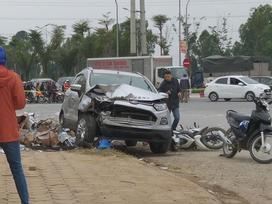 Chủ xe ô tô 'điên' đâm hai vợ chồng tử vong ở Hà Nội là phụ nữ
