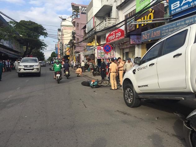 Xe điên hạ gục hàng loạt ô tô và xe máy ở Đà Nẵng-1