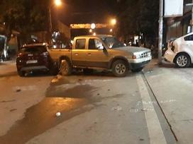 Sơn La: Cán bộ CSGT lái xe ô tô gây tai nạn liên hoàn