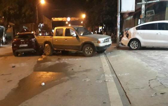 Sơn La: Cán bộ CSGT lái xe ô tô gây tai nạn liên hoàn-1