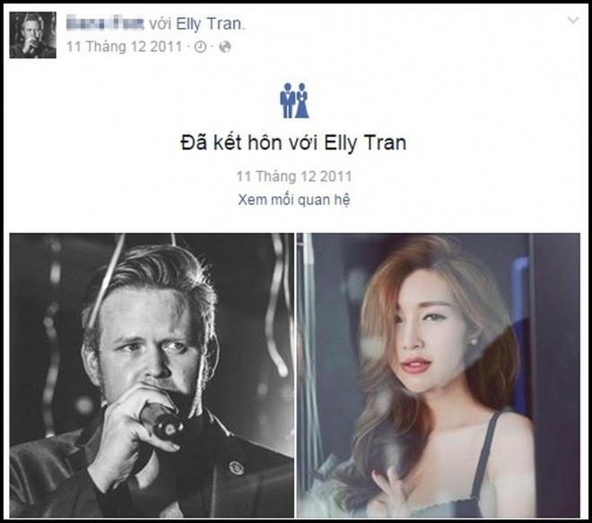 Chính thức lộ diện, ông xã Elly Trần gây bất ngờ với ngoại hình tụt dốc không phanh so với vài năm trước-3
