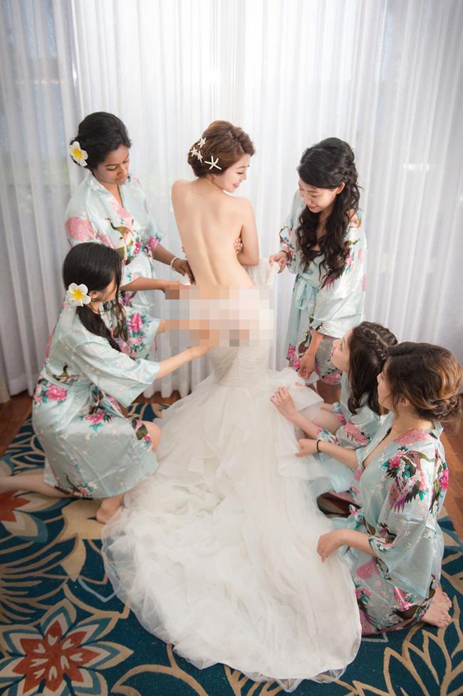 Cô dâu trẻ vô tư nude cùng dàn phù dâu khiến cộng đồng mạng phẫn nộ-12